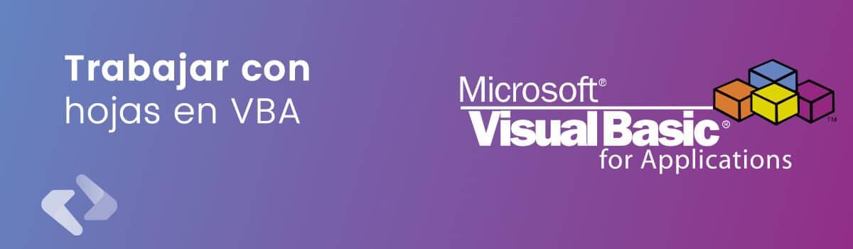 Trabajar con Hojas de Microsoft Excel con Macros VBA, Aplicaciones Excel